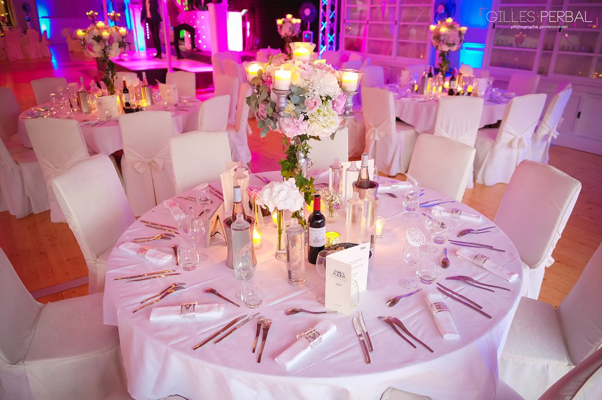 Grande table ronde Mariage hôtel toulon