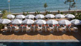 Hotel avec Plage privée en bord de Mer
