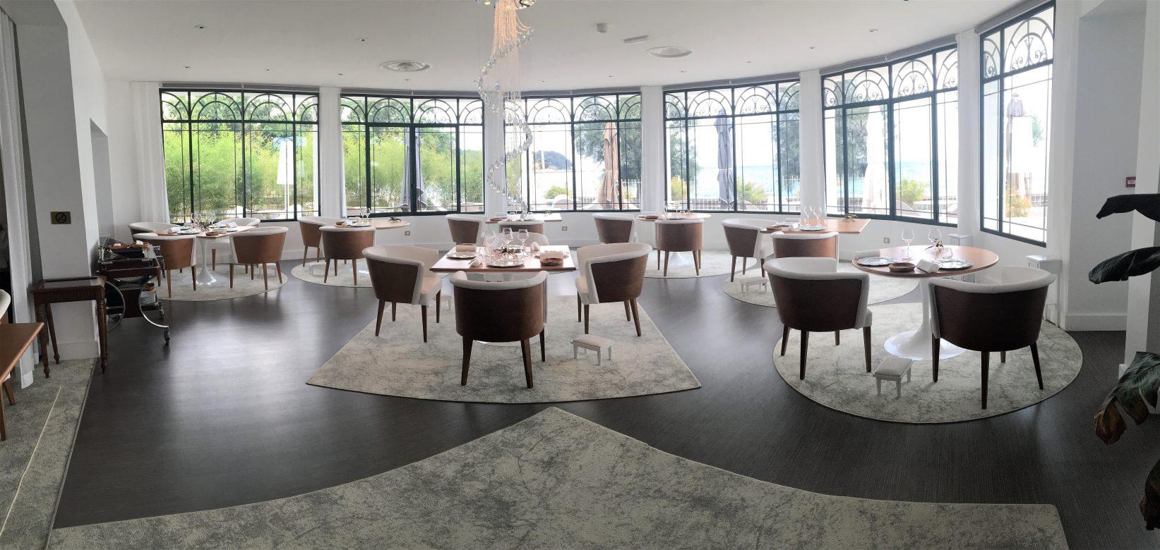 Restaurant gastronomique Horizon dans un hôtel de luxe à TOULON