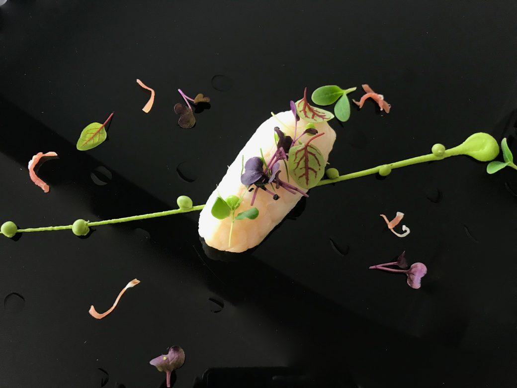 purée au truffe filet de petit pois et verdure - Horizon TOULON