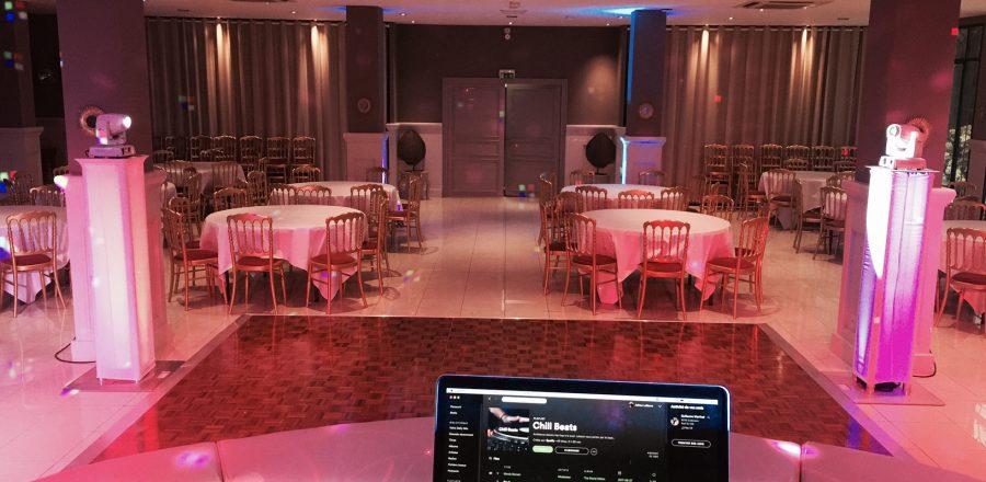 salle mariage Grand Hotel des sablette Var